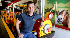David Sexton of Kildare Farm Foods Open Farm and Shop in Duneany, Rathmuck, Co Kildare. Photo: Steve Humphreys