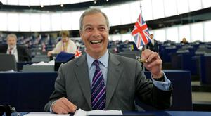 Leading light of the Leave campaign, MEP Nigel Farage. Photo: Vincent Kessler/Reuters