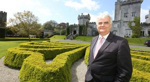 Mark Nolan, managing director of Dromoland Castle in Co Clare. Photo: Brian Arthur