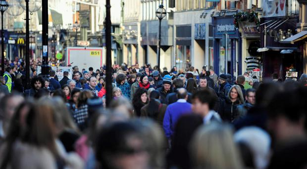 Plunging sterling may lure shoppers to the North