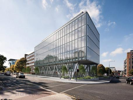 The Velasco building in Dublin — one of the few options if you're after new-build offices
