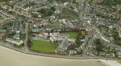 The €21m five-acre site on the coast in Sandymount