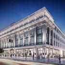 An artist's impression of the plans lodged to develop the department store and Earl Place