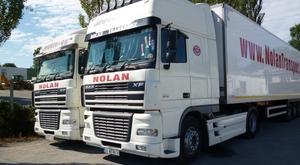 Costs in the action involving Nolan Transport and AIB will be determined in October, but details of the settlement were not revealed in court