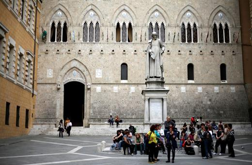 'An Italian bank had to feature badly and so Monte dei Paschi did... Italy's banks are in a lot more trouble than the tests convey'