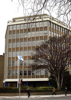 Carrisbrook House in Dublin 4, home of the Israeli embassy