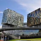 Some of the buildings in the Skolkovo Technology Park, which is being built in Russia to rival Silicon Valley