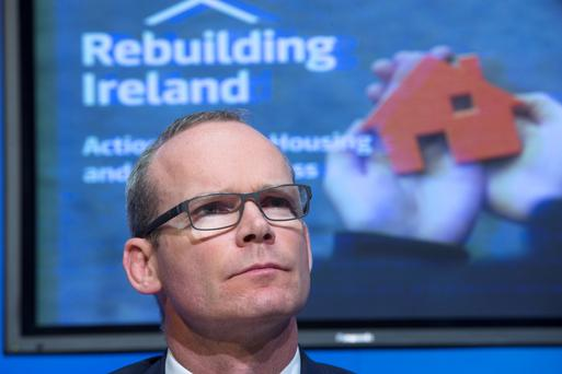The man with the plan, Housing Minister Simon Coveney
