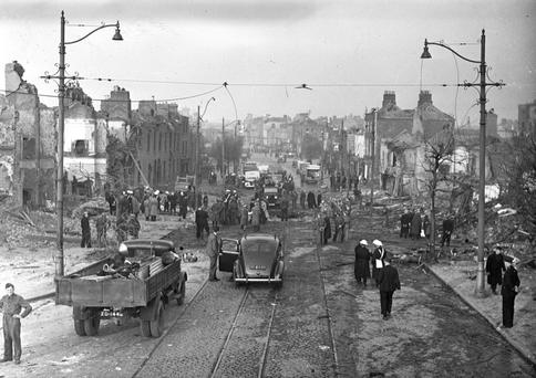 Aside from isolated incidents such as the Luftwaffe's raid on Dublin's North Strand, Ireland emerged largely unscathed from the ravages of World War II