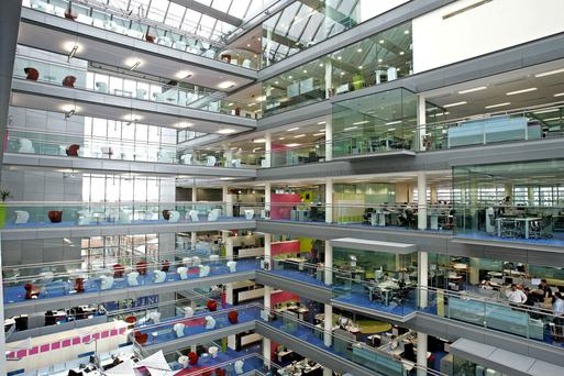 DekaBank provided funding to assist in AGC Equity Partners' acquisition of One Spencer Dock