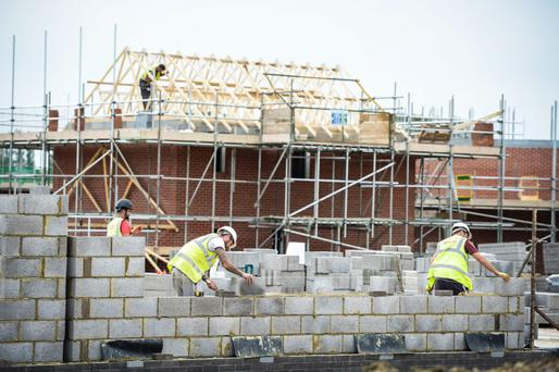The lowest number of units on a county basis was in Monaghan at 76, with the highest number in Fingal at 909. Photo: PA