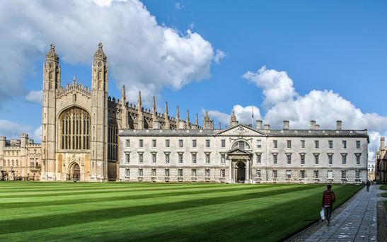 'At the top end of the pay scale we still have professor pay grades that are higher than Oxford, ranked sixth-best in the world ranking, Cambridge – pictured above – in fourth place, or Edinburgh'
