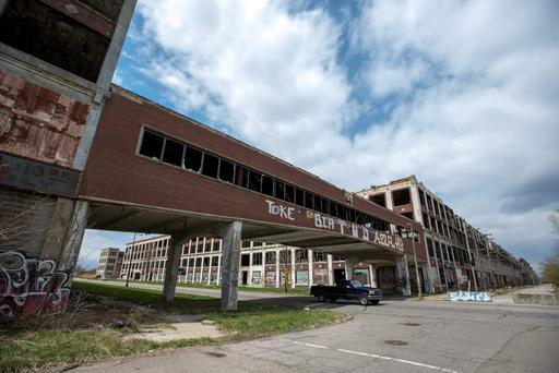 'The destruction of Detroit – Motown – owes much to the inducements offered to the car industry by other states in the south, alongside looser labour regulations'. Photo: Bloomberg