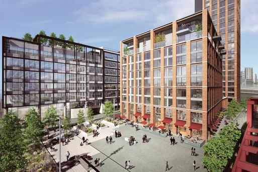 Capital Dock is being developed by Kennedy Wilson and Nama