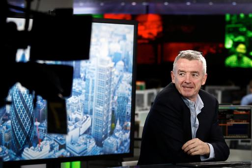 Ryanair chief executive Michael O'Leary wants to keep an eye on customer buying habits. Photo: Bloomberg
