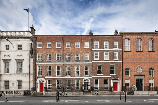 Staunton's on the Green, the Dublin hotel which so far this year has fetched the higest price per room