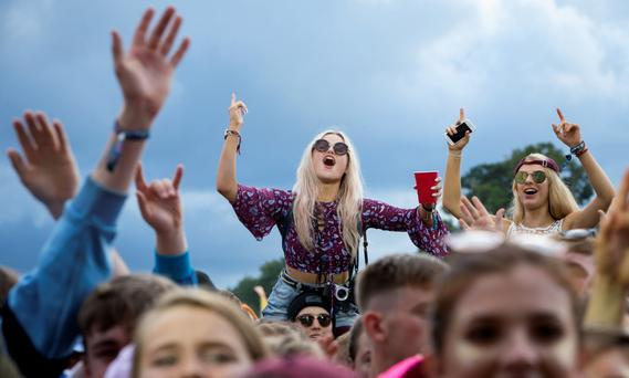 Few people aged under 35 have any kind of savings — and little inclination to think beyond Electric Picnic. Photo: Fergal Phillips
