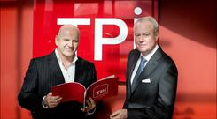 Sean Gallagher with Colin Culliton of TPI Group Photo: David Conachy