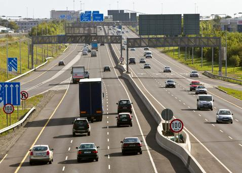 Motorists currently pay between €2.10 and €3.10 to use the M50. (Stock photo)