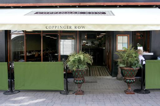 Coppinger Row restaurant