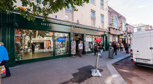 Carrolls has over 14 years remaining on its Talbot Street lease