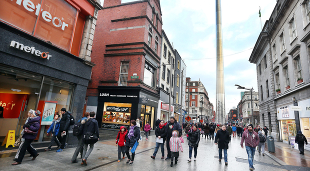 The Dublin One campaign is part of a drive to draw visitors to shop and stay on the city's northside and (inset) developer Noel Smyth has plans for the area