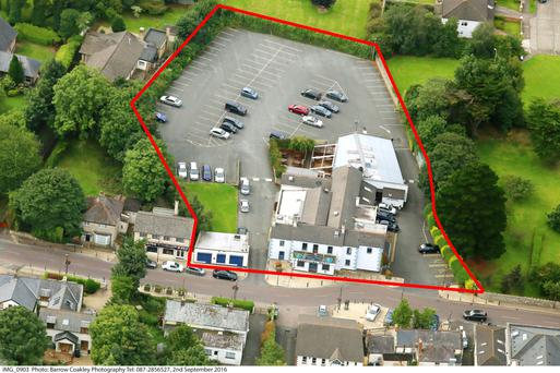 Offers in excess of €2m are sought for the Sandyford House pub