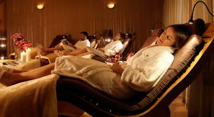 The relaxtion room at the spa of the five-star Druids Glen Resort in Co Wicklow