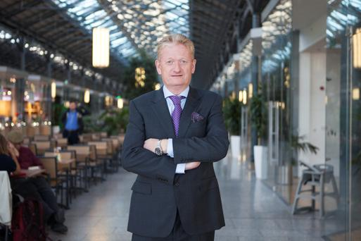 Michael Cosgrave says the Cosgrave Property Group and IPUT hope to have the Exchange building occupied by the end of 2017