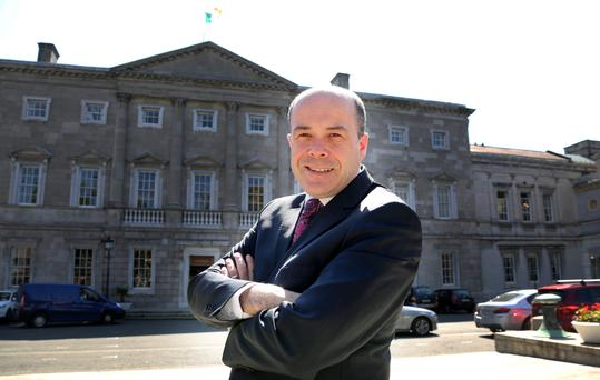 Climate Change Minister Denis Naughten