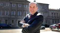 Climate Change Minister Denis Naughten. Photo: Tom Burke