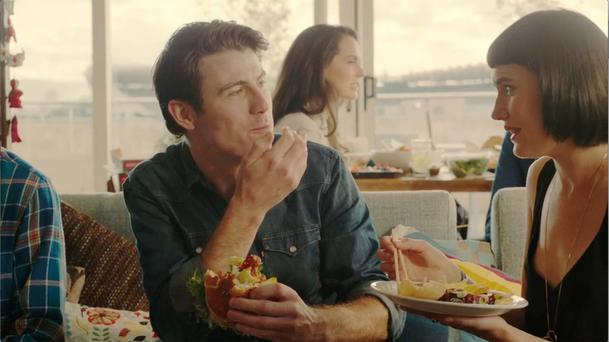 Just Eat's campaign was produced by Antidote