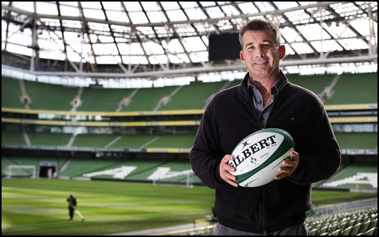 Padraig Power, director of commercial and marketing, IRFU. Photo: Steve Humphreys