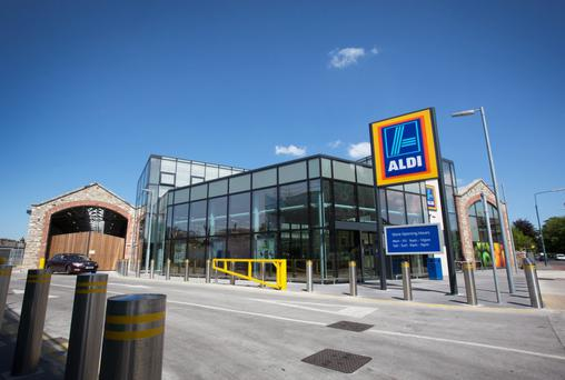 The expanding Aldi network
