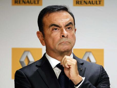 Nissan chief executive officer Carlos Ghosn