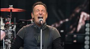 Bruce Springsteen on stage during The River Tour at Croke Park in 2016