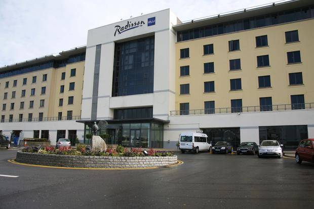 The hotel would be situated in the car park of the Radisson Blu