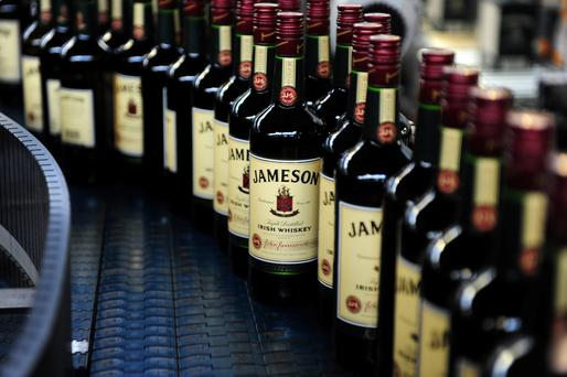 Growth in the Americas hit 8pc, spurred by the strong performance of Jameson. Photo: Aidan Crawley / Bloomberg