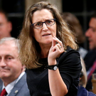 Canadian Trade Minister Chrystia Freeland