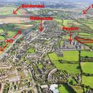The land, 2.5 acres of which is already zoned residential, is 16km from Dublin city centre