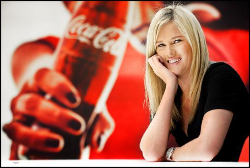 Aoife Nagle, Coca-Cola marketing manager Ireland, says the company has risen to challenges