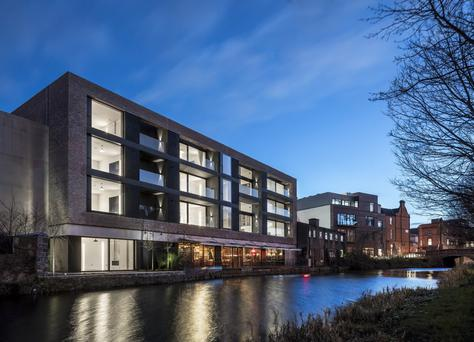 ODOS Architects are nominated for the Design Project of the Year category for their work on No 55 Percy Place, in Dublin 4