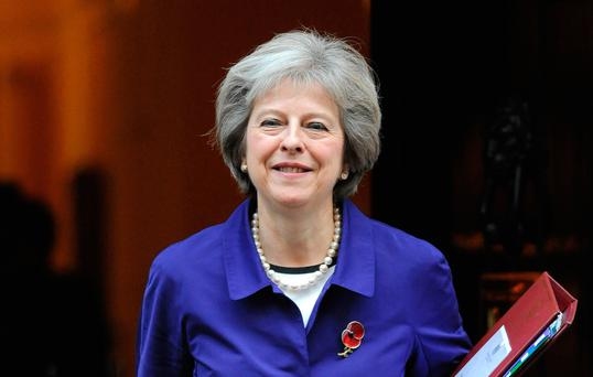 Theresa May. Photo: PA