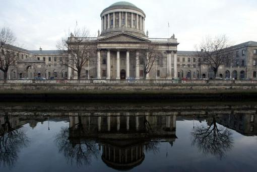 The Four Courts Building in Dublin could soon see hundreds of English lawyers working within its doors