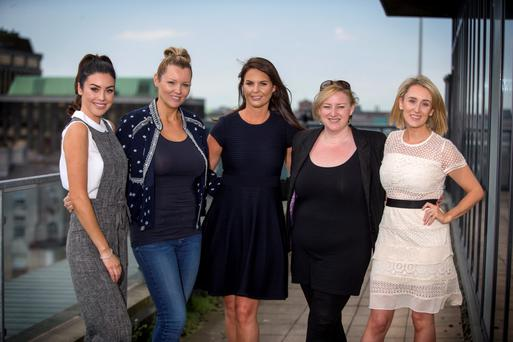 Suzanne Jackson of SoSu Beauty, Paula Callan of Callan & Co, Jane Swarbrigg of Inglot, Dearbhail McDonald, Group Business Editor INM. Photo: Colin O'Riordan
