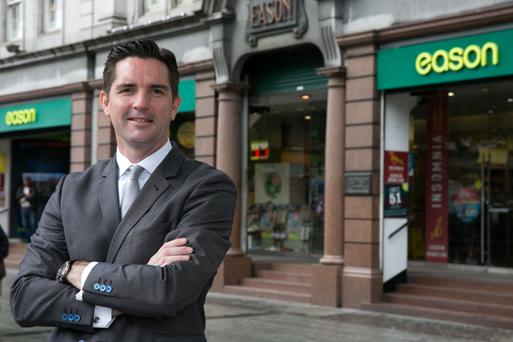 Brendan Corbett, head of marketing, Eason and Son says online sales are growing all the time