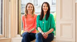 Fiona Craul (left) and Susan Dempsey of product-sourcing company Sweetspot, which has worked with major brands. Photo: Michael Donnelly