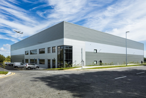 Green Reit's development at Horizon Logistics Park is one of just two industrial property projects currently underway