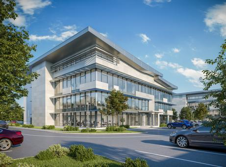 M11 Business Campus offices can be let for €17.50 per sq ft