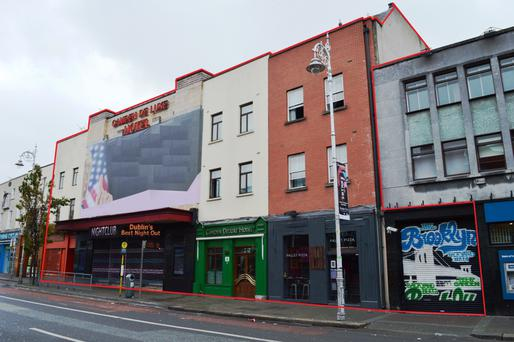 The Camden Deluxe Hotel and Entertainment Complex is located within Dublin city centre's vibrant 'Camden Quarter'